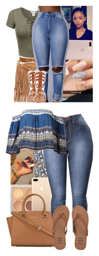 """""""Summer Fits #2"""" by heavensincere ❤ liked on Polyvore featuring Rebecca Minkoff, Valentino, Nadri, MICHAEL Michael Kors and Billabong"""