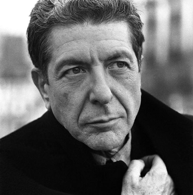 Leonard Cohen, singer, musician, poet.