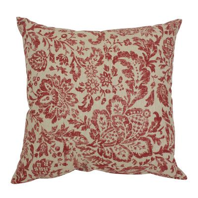 August Grove Elma Polyester Throw Pillow Size:
