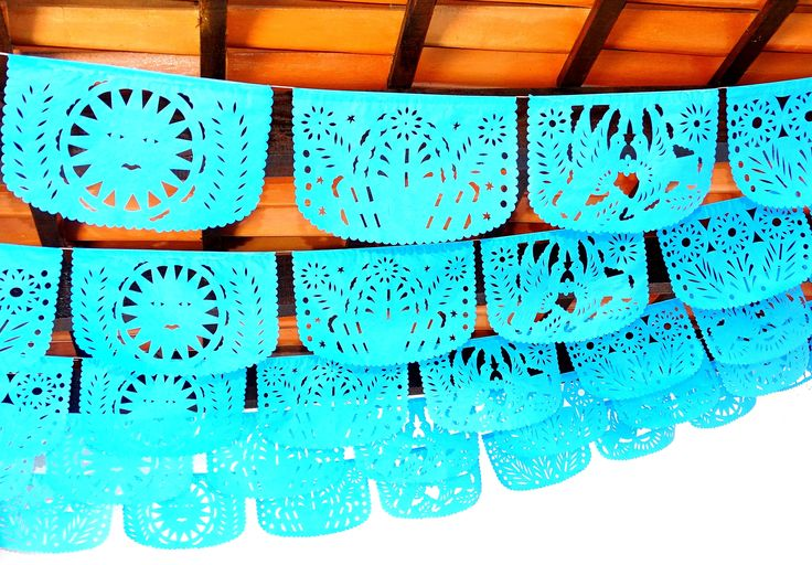Engagement banner, 5 Pack banners, 60 feet long banner, Fiesta Decorations Garland, Mexican Party Supplies, Papel picado first birthday,