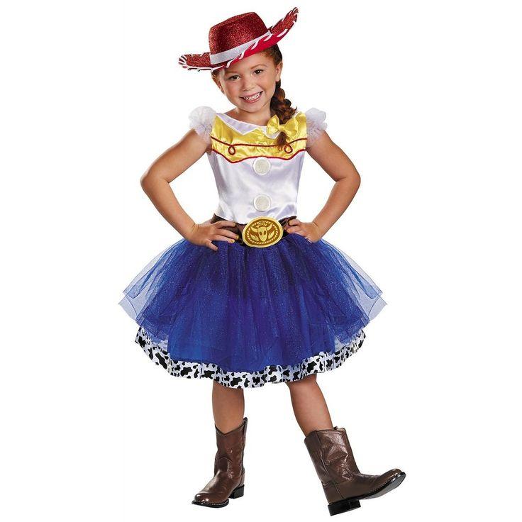 Jessie Tutu Prestige Costume Kids Toy Story Halloween Fancy Dress Cowgirl #Disguise