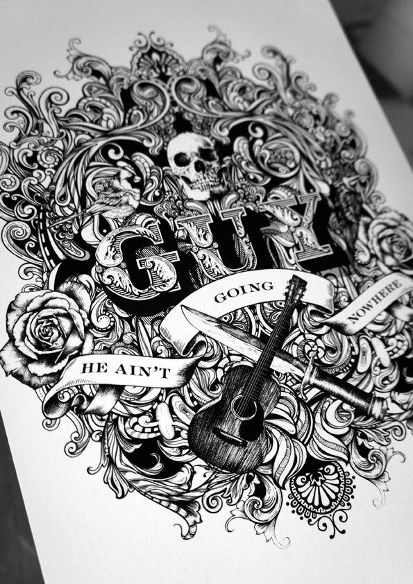 #typography #letterning