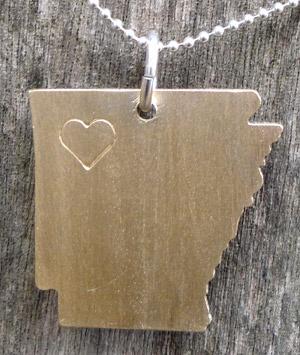 Arkansas necklace by Robinson Lane.