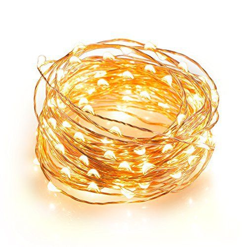 TaoTronics Outdoor String Lights, 100 Leds String Lights 33ft Christmas Waterproof Decorative Lights for Bedroom, Patio, Parties( Copper Wire Lights, Warm White ) review - http://www.bestseller.ws/blog/home-and-kitchen/taotronics-outdoor-string-lights-100-leds-string-lights-33ft-christmas-waterproof-decorative-lights-for-bedroom-patio-parties-copper-wire-lights-warm-white-review/