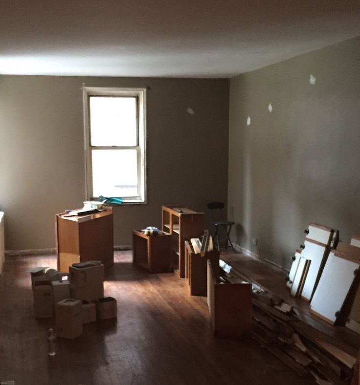 Before & After: Timothy's Deep Charcoal Living Room