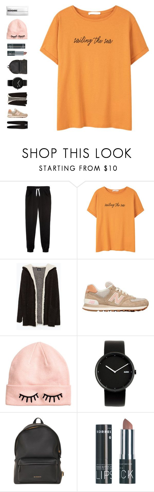 """""""love will remember"""" by ouchm4rvel ❤ liked on Polyvore featuring ONLY, MANGO, Zara, New Balance, H&M, Alessi and Givenchy"""