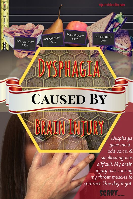 Dysphagia caused by brain injury | No memory of the day that changed my life