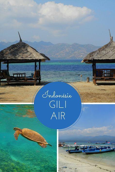 Deux jours sur l'île de Gili Air, entre Bali et Lombok (Indonésie)