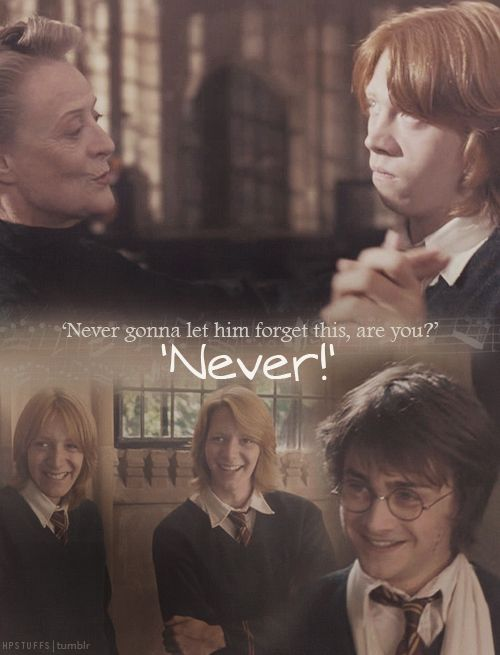 Day 20: Funniest Moment When the preparations for the Yule Ball began and Ron was forced to dance with Professor McGonagall. This was too funny! XD