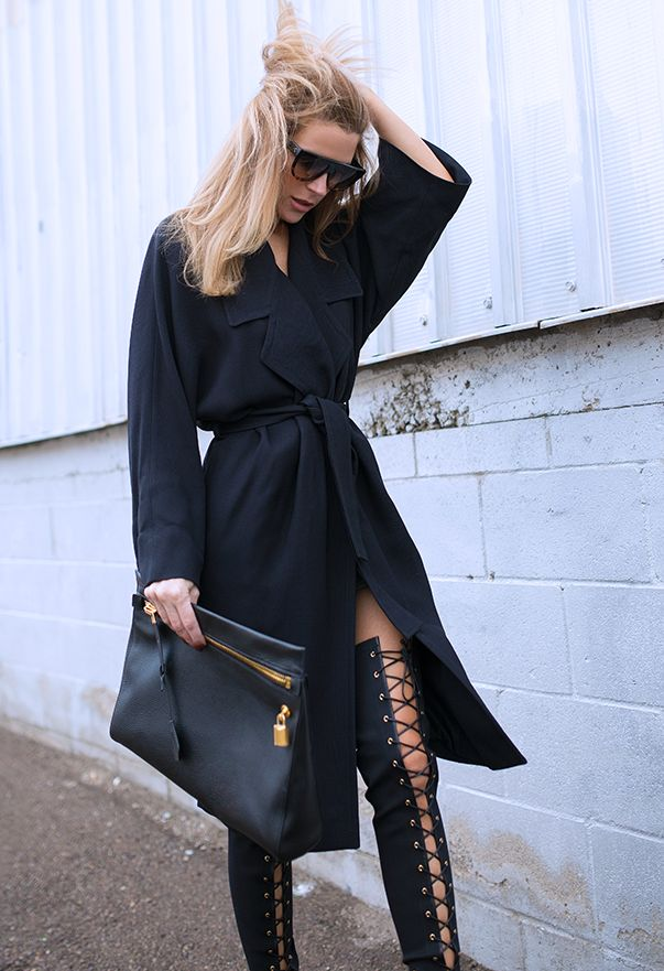 Sexy all black everything