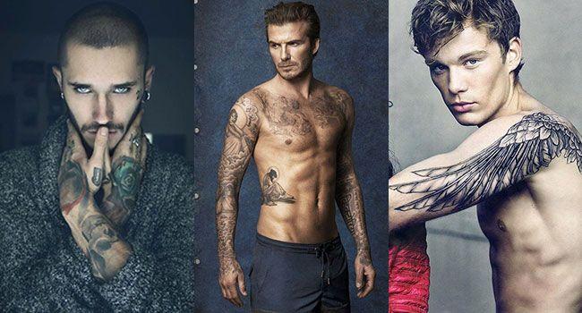 David Beckham, Adam Levine, Johnny Depp... Les hommes tatoués, c'est sexy. Que vous préfériez les hommes aux tatouages simples et épurés ou ceux aux bras complètement tatoués, Cosmo vous a concocté une sélection de 25 tatouages sexy pour homme. Régalez-vous! #PlaisirDesYeux