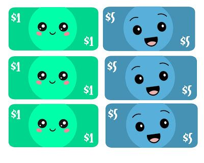 free Kawaii play money
