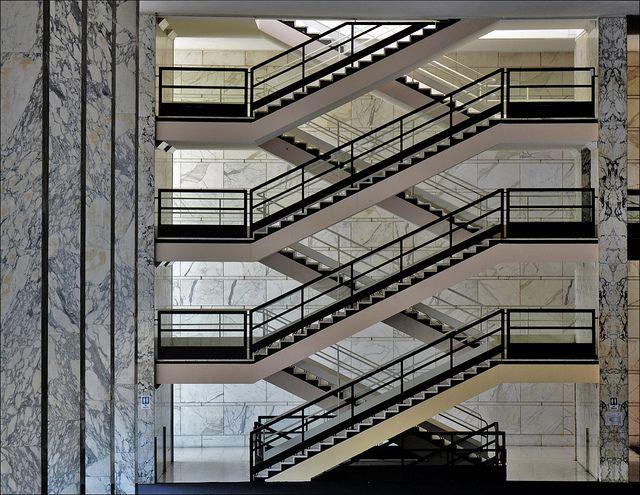 """Adalberto Libera: Palazzo dei Congressi. Roma EUR  """"Ognuno ha perso come poteva"""" by mluisa_, via Flickr."""