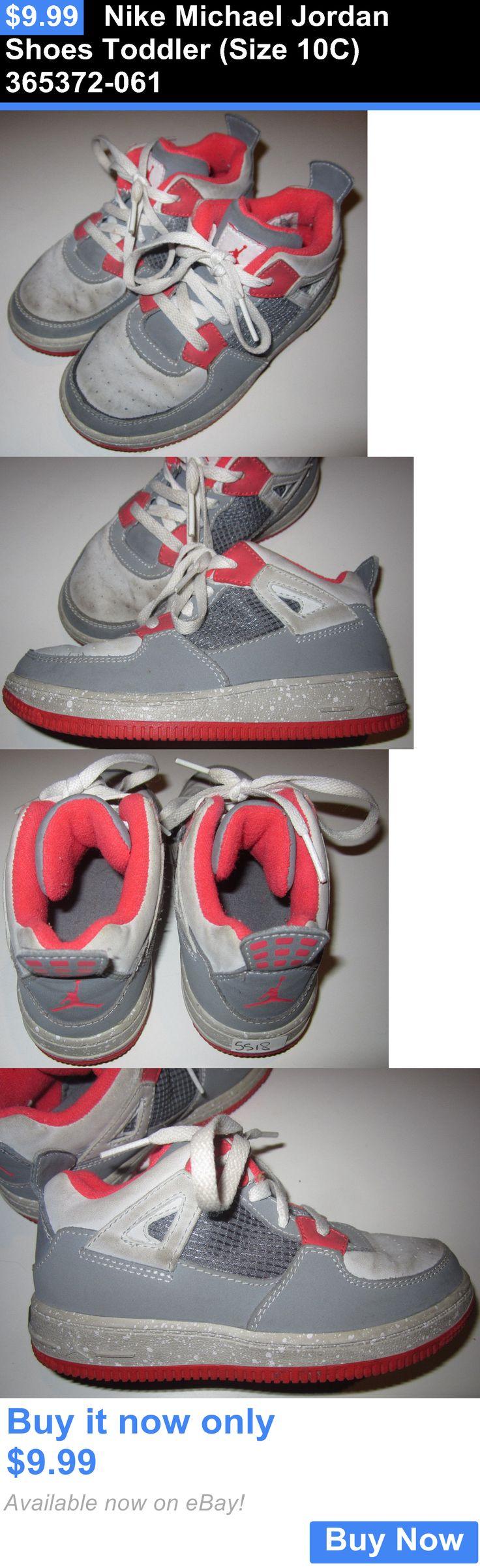 Michael Jordan Baby Clothing: Nike Michael Jordan Shoes Toddler (Size 10C) 365372-061 BUY IT NOW ONLY: $9.99