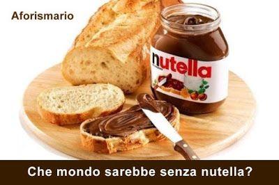 Aforismario®: Nutella® - Aforismi, frasi e battute divertenti