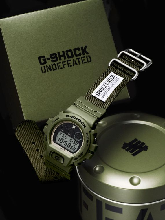 UNDFTD x Casio G Shock 30th Anniversary DW 6901UD 3 Watch | Available Now