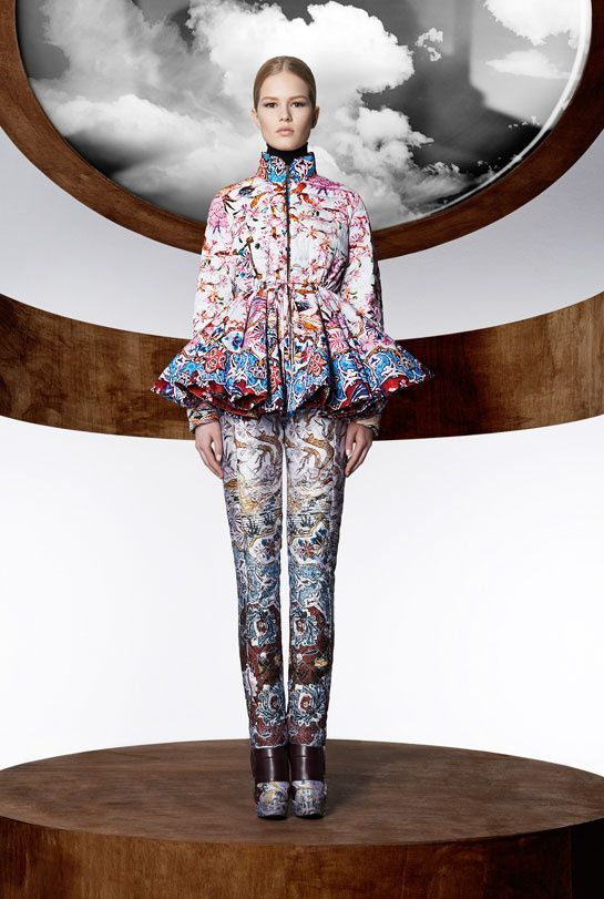 Moncler M by Mary Katrantzou collection 2013