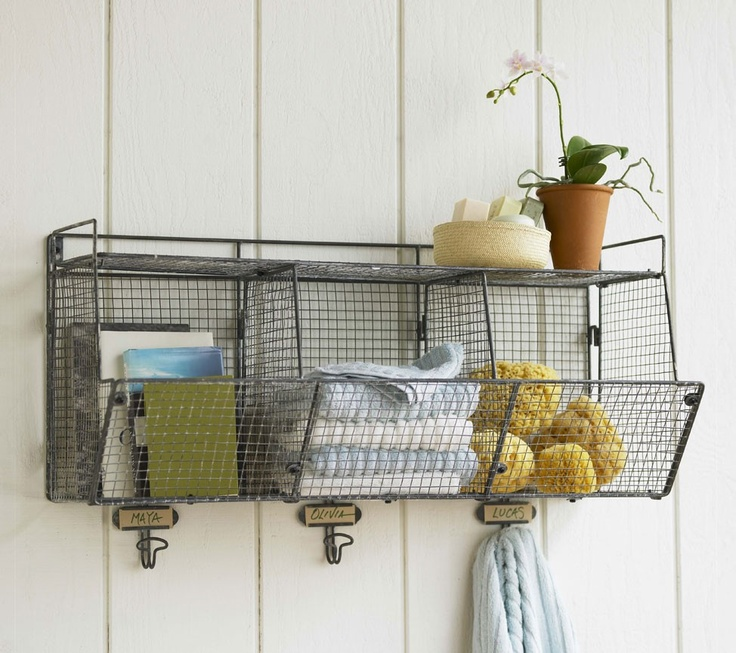 Three Bin Wire Shelf Have Something Like This For Above Changing
