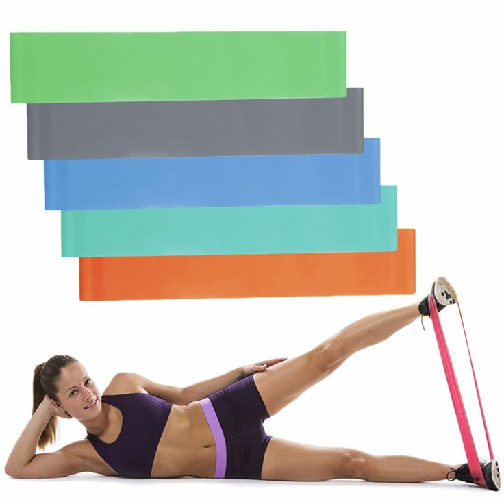 <font><b>Yoga</b></font> Fitness Resistance Band Elastic Latex <font><b>Belt</b></font> Loop Pull Strength Training free shipping. ** See more by going to the photo link