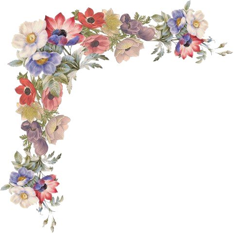 of Vintage Vector Graphics: Floral Borders, Corners, and ...