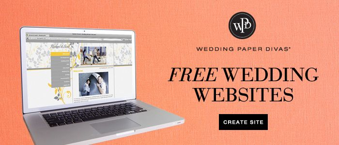 Free Personalized Wedding Website