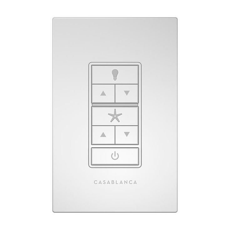 Simple Hunter Indoor Outdoor White Wall Control