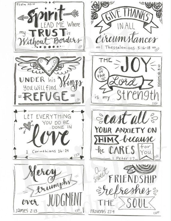 It is a photo of Printable Scripture Cards throughout blessing