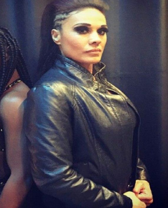Tamina Snuka Leather Jacket
