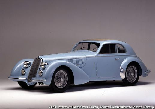 1937 Alfa Romeo 8C 2900 In our opinion, where Alfa's beauty started