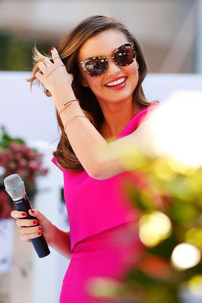 Miranda Kerr Cateye Sunglasses - Miranda Kerr Looks - StyleBistro