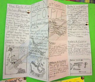 Runde's Room: Folding in Social Studies - great idea for First Nations & explorers