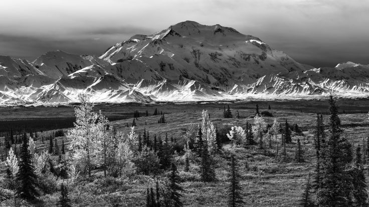 Denali in Monochrome by Tom Stoncel on 500px