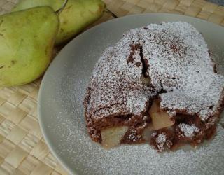 Κέικ με αχλάδια at cooklos.gr