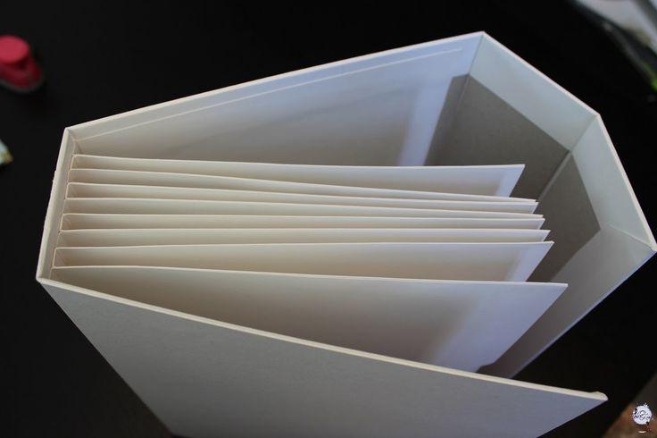 Os explicamos paso a paso como hacer un binding muy fuerte y resistente para álbum de scrapbooking. El binding no solo resiste mucho peso sino que ademas tiene un bolsillo por cada pagina que se hace.