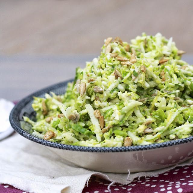 Brussels Sprouts Apple Slaw | ! A Permanent Health Kick ! - Healthy L ...