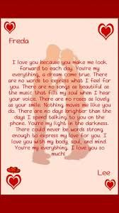 love letter to my gf