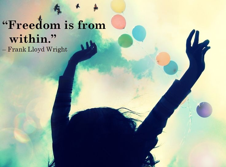 Free to be you.
