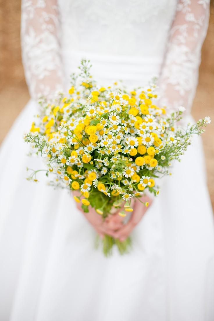 wedding flowers daisies flower power pinterest