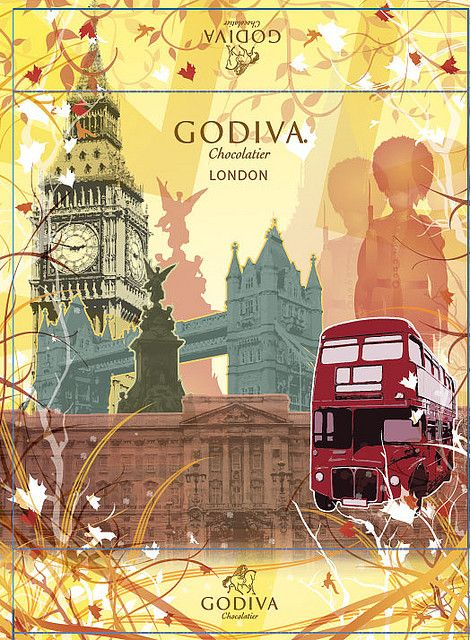 Godiva and London.  Another good pairing.