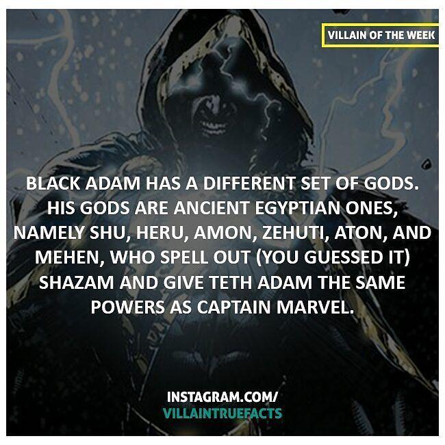 Black Adams' S.H.A.Z.A.M. gods
