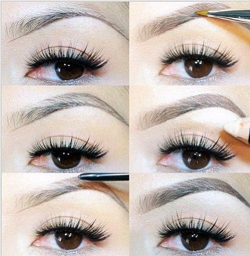 Eyebrow tips and tricks | Make up | Pinterest