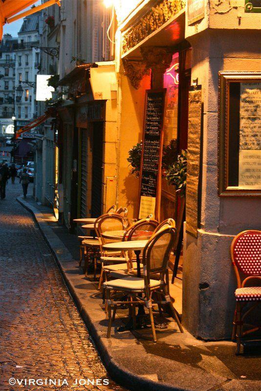 Paris Through My Lens: Outside Seating  Café Mouffetard rue Mouffetard