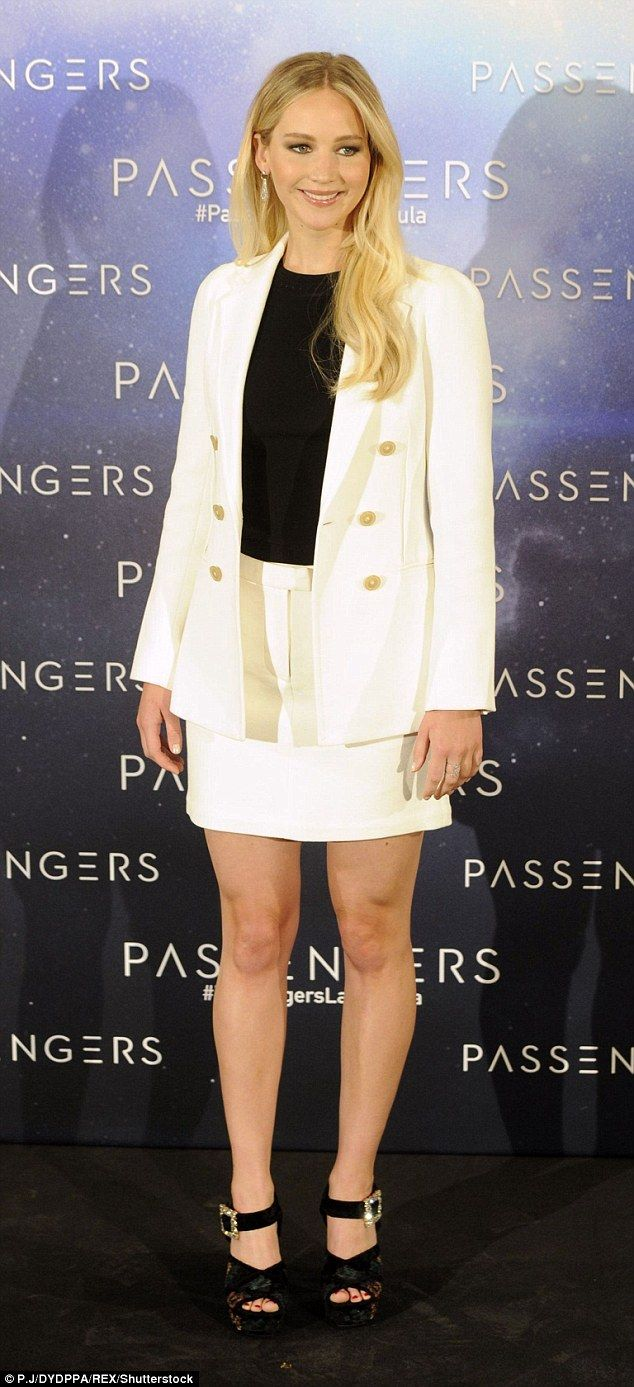 Look sharp like Jennifer in her 3.1 Phillip Lim blazer   Click 'visit' to buy it now  #DailyMail