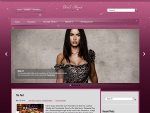 GirlsBook is stylish and clean fashion themes for WordPress blog. Its design is a perfect foundation for women blog. The theme supports and comes with custom widgets, drop-down menus, javascript slideshow and lots of other useful features.