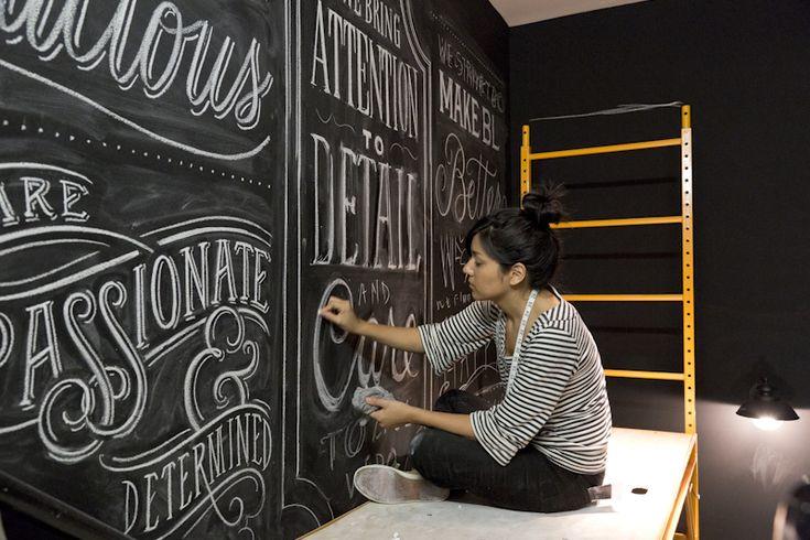 Beautiful Chalk Lettering by Dana Tanamachi » Design You Trust