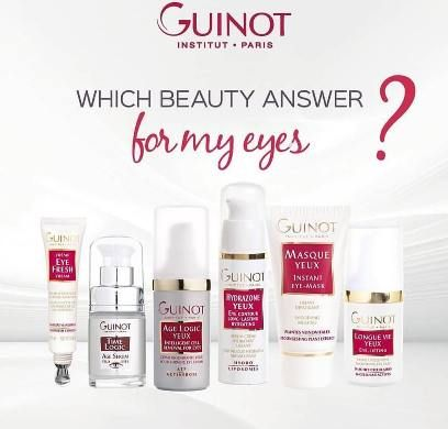 The eyes: one of the most sensitive and vulnerable areas. Guinot offers you some solutions adapted to your Beauty objective! Discover the best Beauty answers for your eyes in your Guinot beauty salon. #guinot #weloveguinot #pamper #hydration #soft #eyes #beauty #beautytips #essentials #transformationthursday