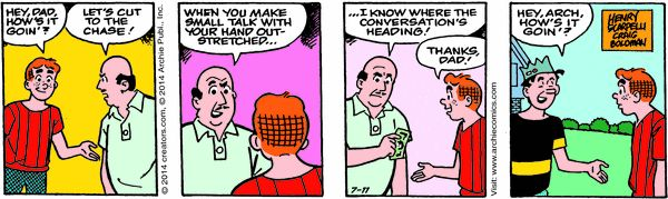 Archie Cartoon for Jul/11/2014
