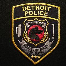 Michigan - Detroit Police Narcotics Patch