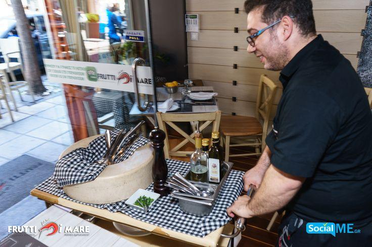 Είσαι έτοιμος για τις απόλυτες γεύσεις που προφέρει το #FruttiDiMare ;#SeaFood #Restaurant #Thessaloniki