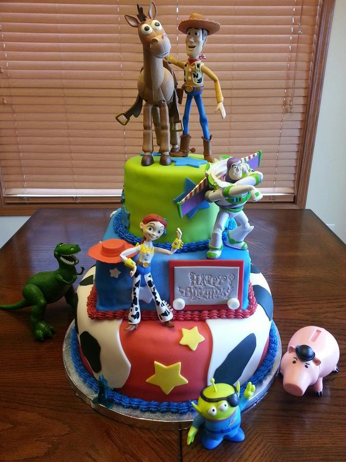 Birthday Cake Toy : Toy story birthday cake kid stuff pinterest disney